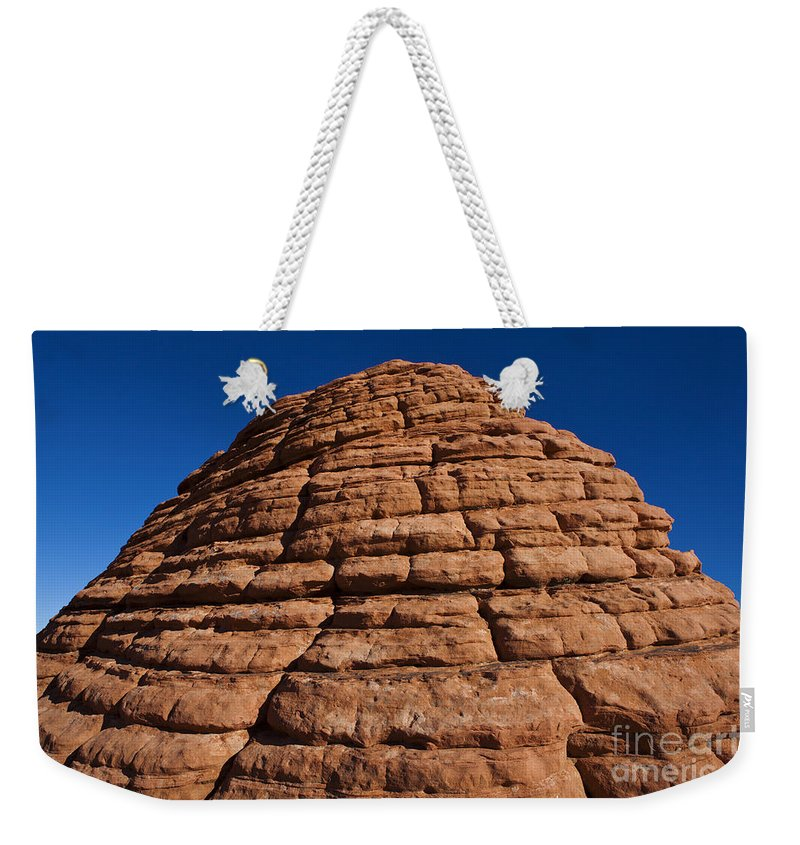 The Beehives Weekender Tote Bag featuring the photograph Beehive Valley Of Fire State Park Nevada by Jason O Watson
