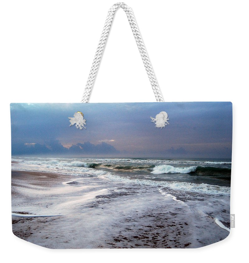 Storm Weekender Tote Bag featuring the photograph Before The Storm by Mim White