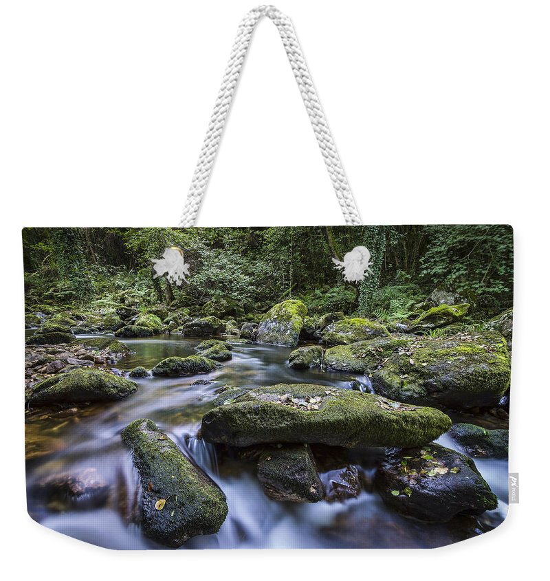 Belelle Weekender Tote Bag featuring the photograph Belelle River Neda Galicia Spain by Pablo Avanzini