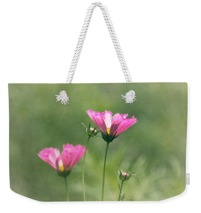 Flower Weekender Tote Bag featuring the photograph Believe In Your Dreams by Kim Hojnacki