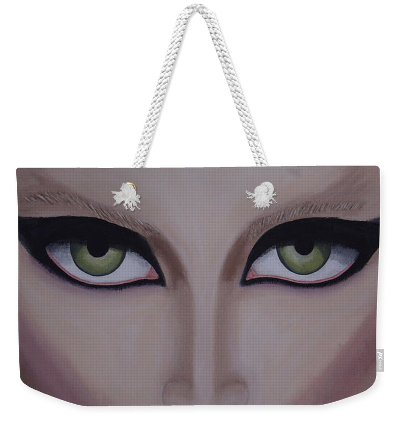 Beautiful Weekender Tote Bag featuring the painting Belle by Dean Stephens