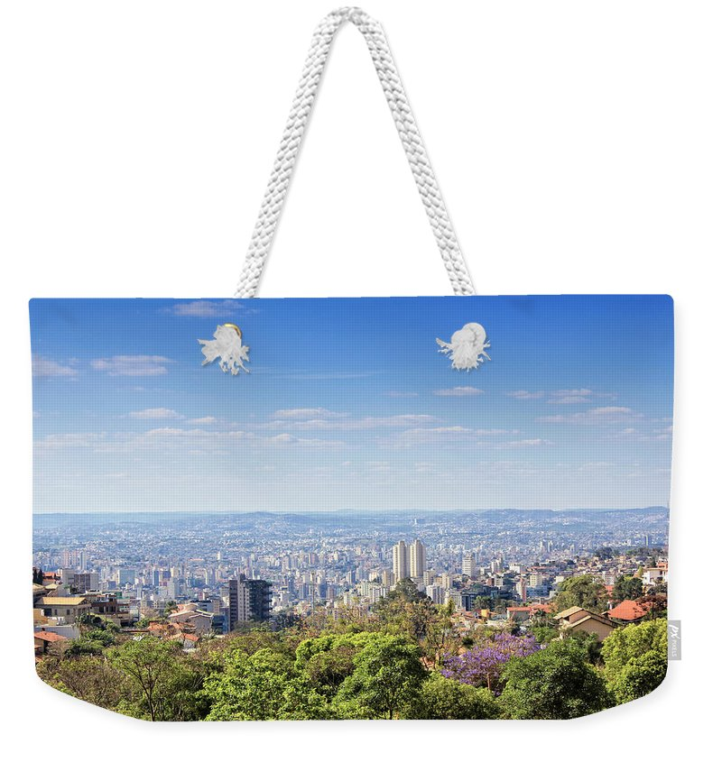Tranquility Weekender Tote Bag featuring the photograph Belo Horizonte by Antonello