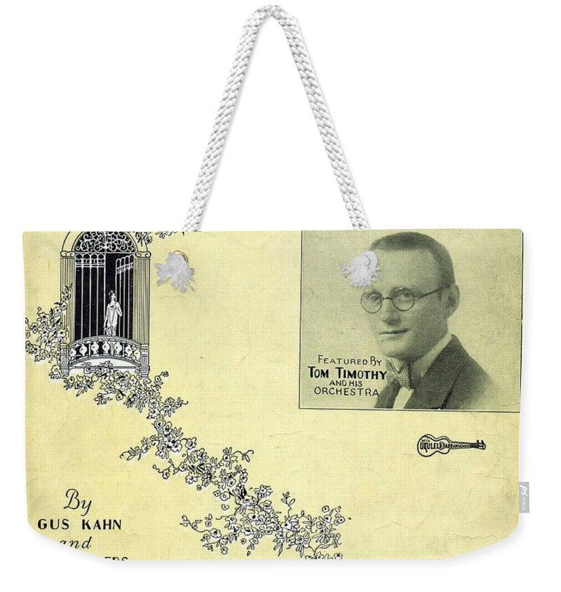 Nostalgia Weekender Tote Bag featuring the photograph Beloved by Mel Thompson