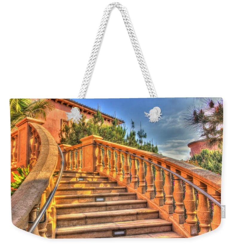 Arch Weekender Tote Bag featuring the photograph Benvenuto by Heidi Smith