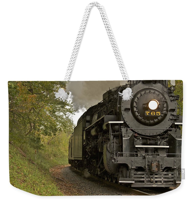 765 Weekender Tote Bag featuring the photograph Berkshire 765 by Jack R Perry
