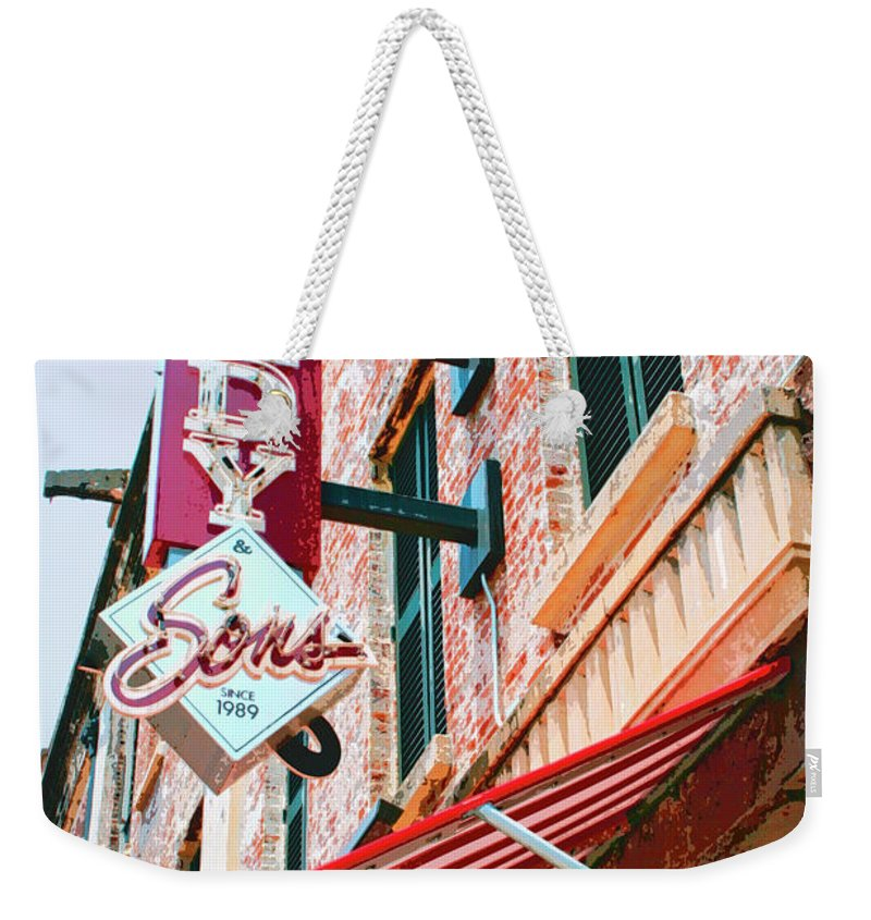Savannah Weekender Tote Bag featuring the photograph Best Dishes Savannah by William Dey