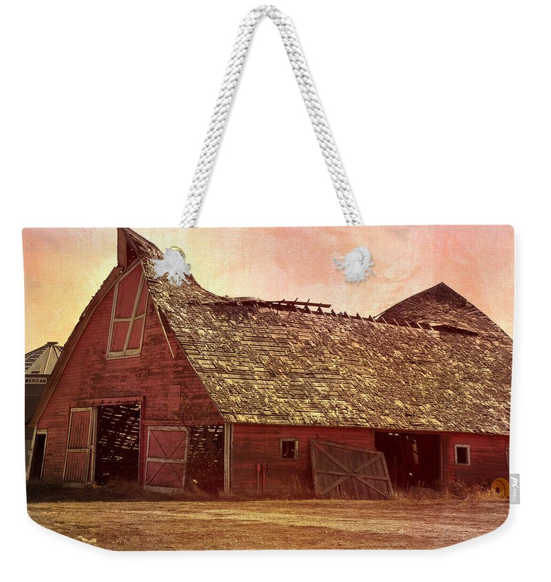 Barn Weekender Tote Bag featuring the photograph Better Days by Image Takers Photography LLC - Carol haddon