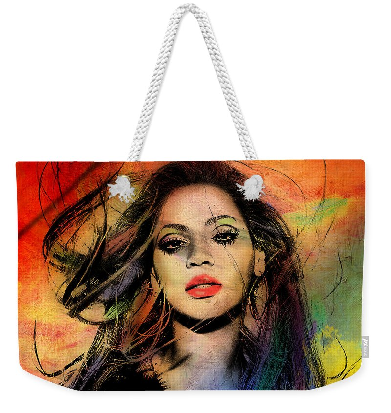 Entertainment Paintings Weekender Tote Bags