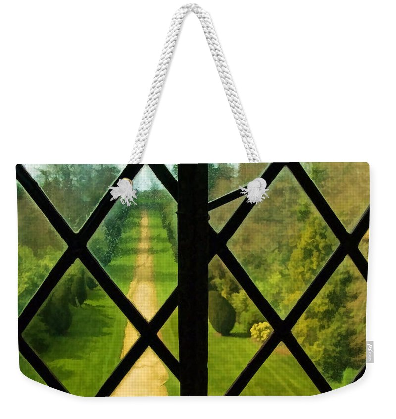 Somerset Weekender Tote Bag featuring the photograph Beyond M'lord's Chamber by Susie Peek