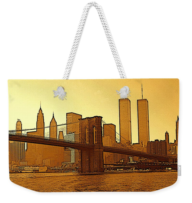New York City - Big Apple Sunrise Weekender Tote Bag for Sale by ...