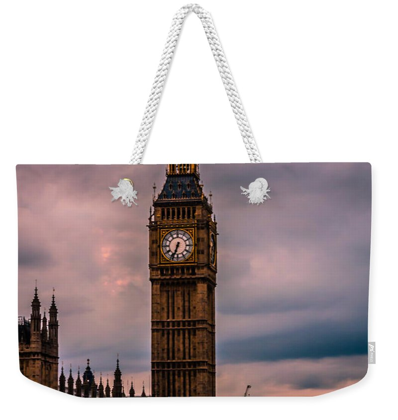 Uk.dawn Oconnor Weekender Tote Bag featuring the photograph Big Ben London by Dawn OConnor
