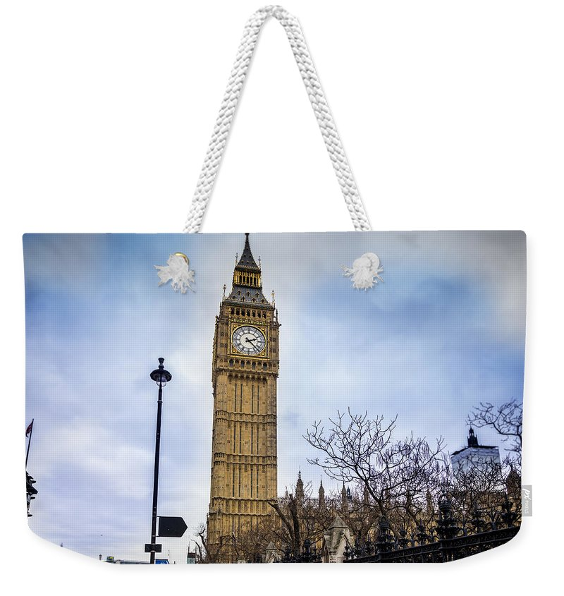 Big Ben Weekender Tote Bag featuring the photograph Big Ben by Pati Photography