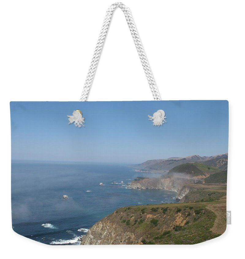 Coast Weekender Tote Bag featuring the photograph Big Sur - California by Christiane Schulze Art And Photography
