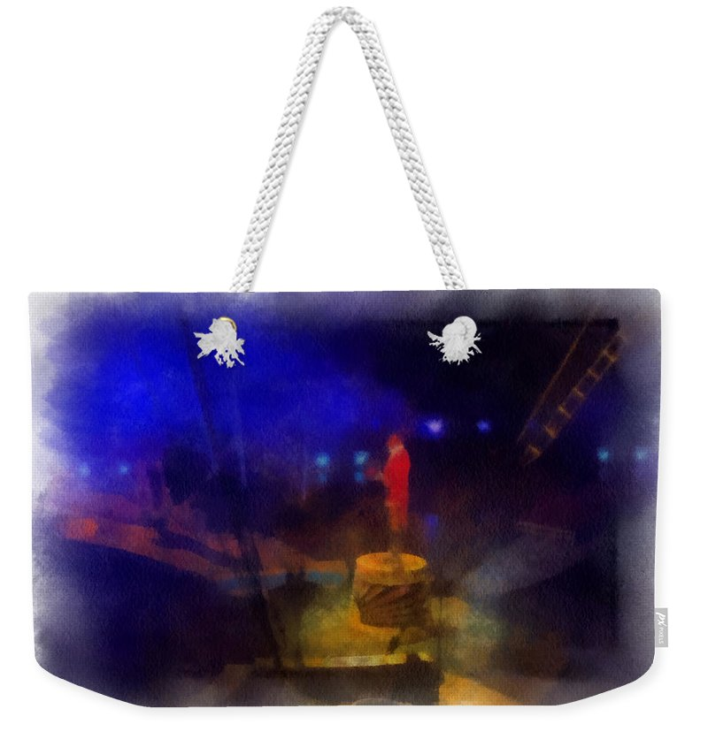 Circus Weekender Tote Bag featuring the photograph Big Top Ladies And Gentleman Photo Art by Thomas Woolworth