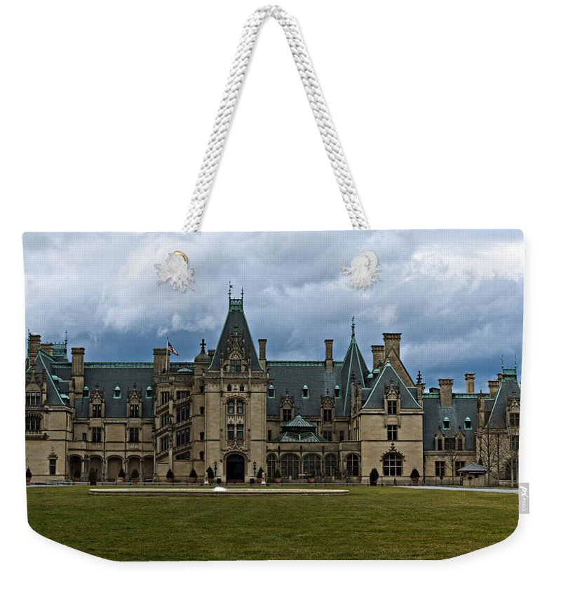 Biltmore Weekender Tote Bag featuring the photograph Biltmore Estate by Christopher Gaston