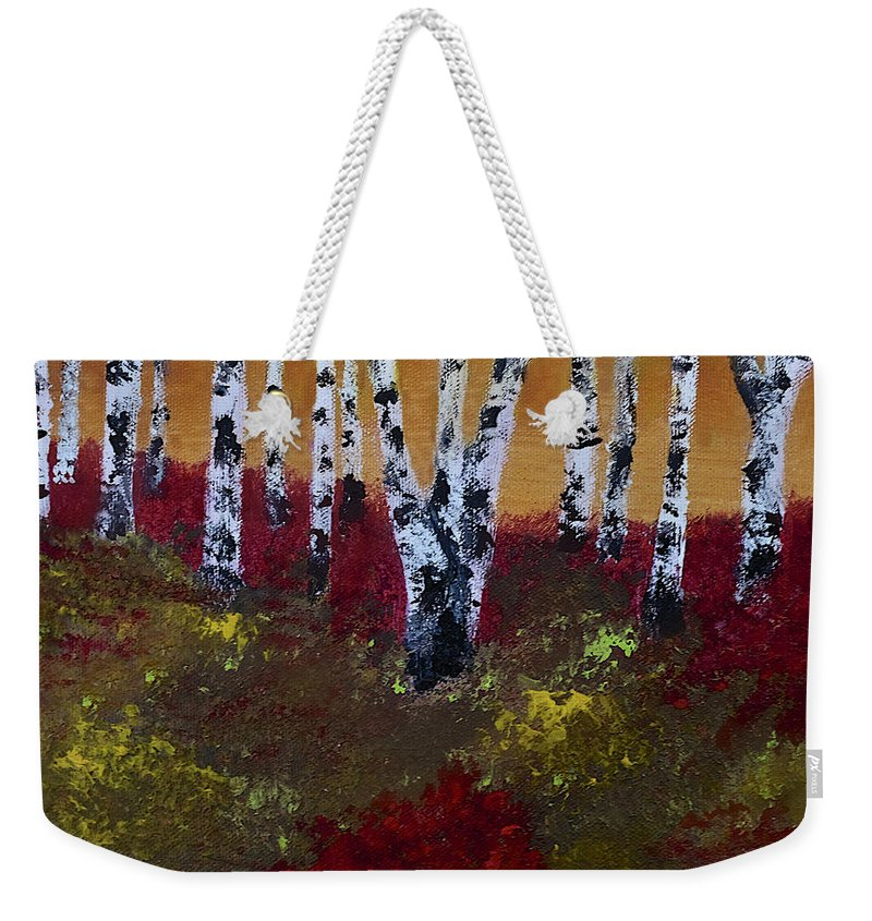 c258886af5 Birch Grove Weekender Tote Bag for Sale by Dick Bourgault