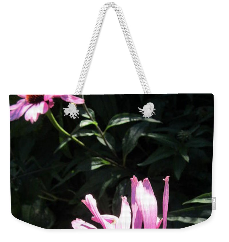 Flowers Weekender Tote Bag featuring the photograph Birds And The Bee by Rosita Larsson