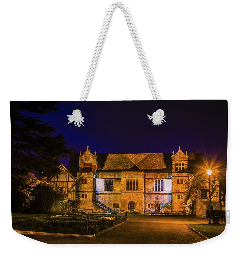 Bishops Palace Weekender Tote Bag featuring the photograph Bishops Palace by Dawn OConnor