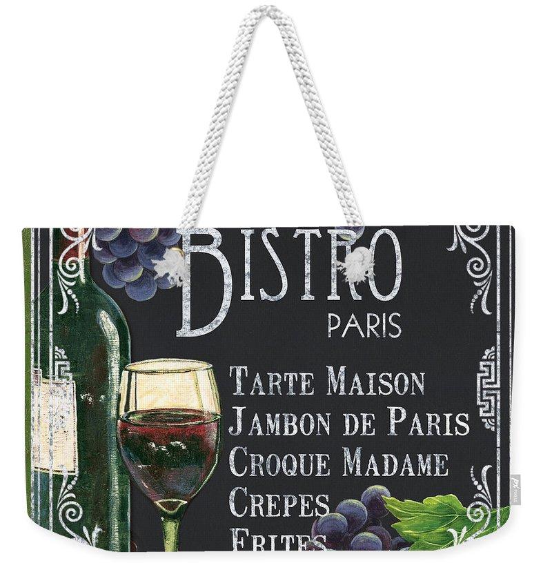 Vino Paintings Weekender Tote Bags