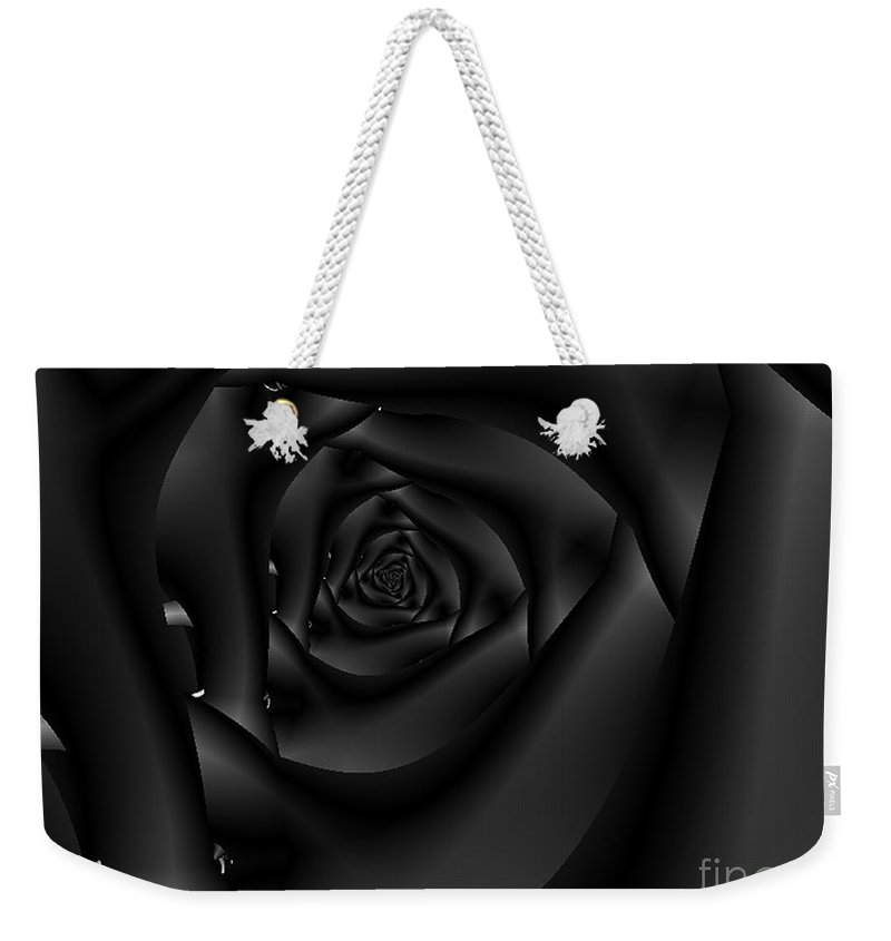 Tempation Weekender Tote Bag featuring the photograph Velvet by Dana Haynes