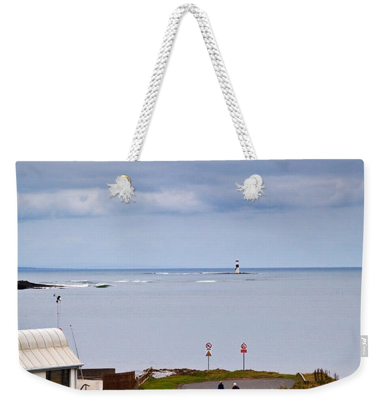 Photography Weekender Tote Bag featuring the photograph Blackrock Lighthouse, Off Rosses Point by Panoramic Images