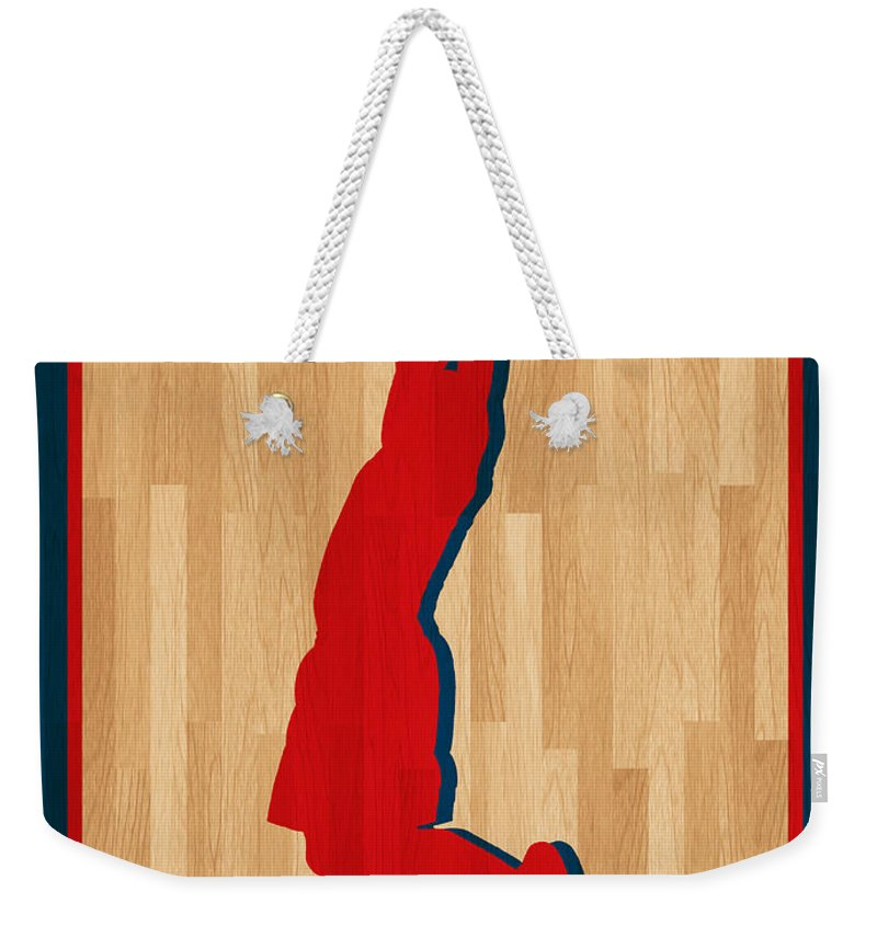 Griffin Weekender Tote Bag featuring the photograph Blake Griffin Los Angeles Clippers by Joe Hamilton