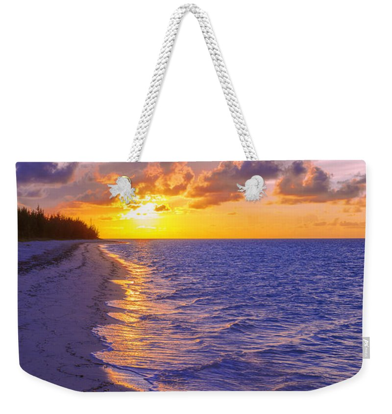 Blaze Weekender Tote Bag featuring the photograph Blaze by Chad Dutson