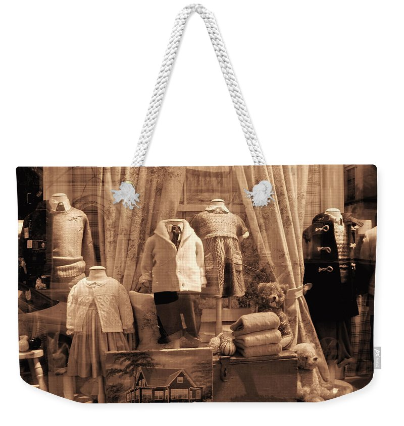 New York Weekender Tote Bag featuring the photograph Bless The Children by Donna Blackhall