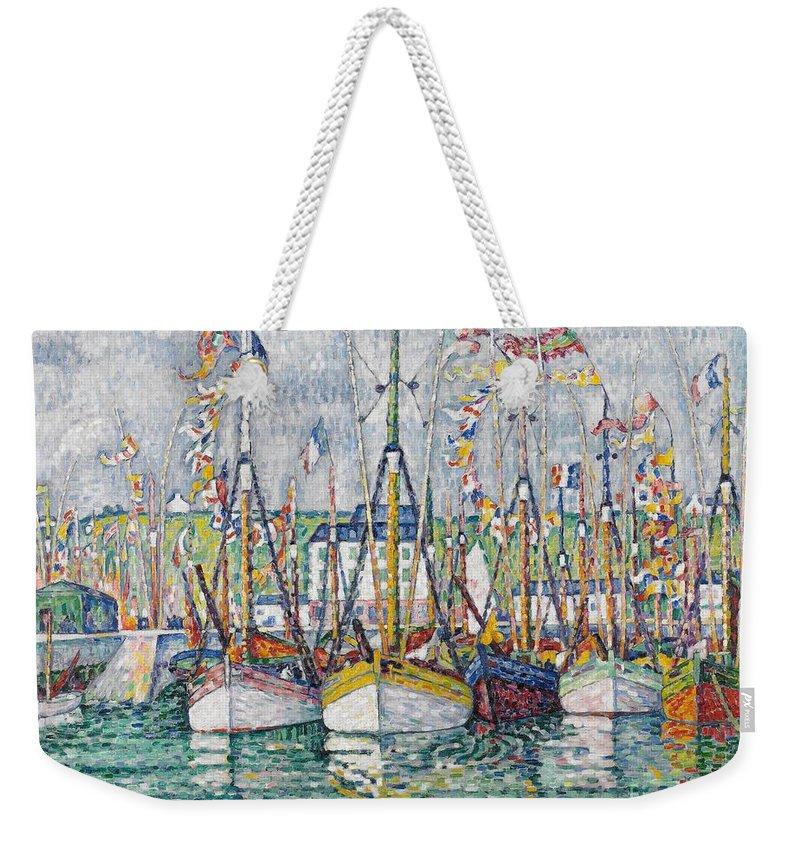 Signac Weekender Tote Bags