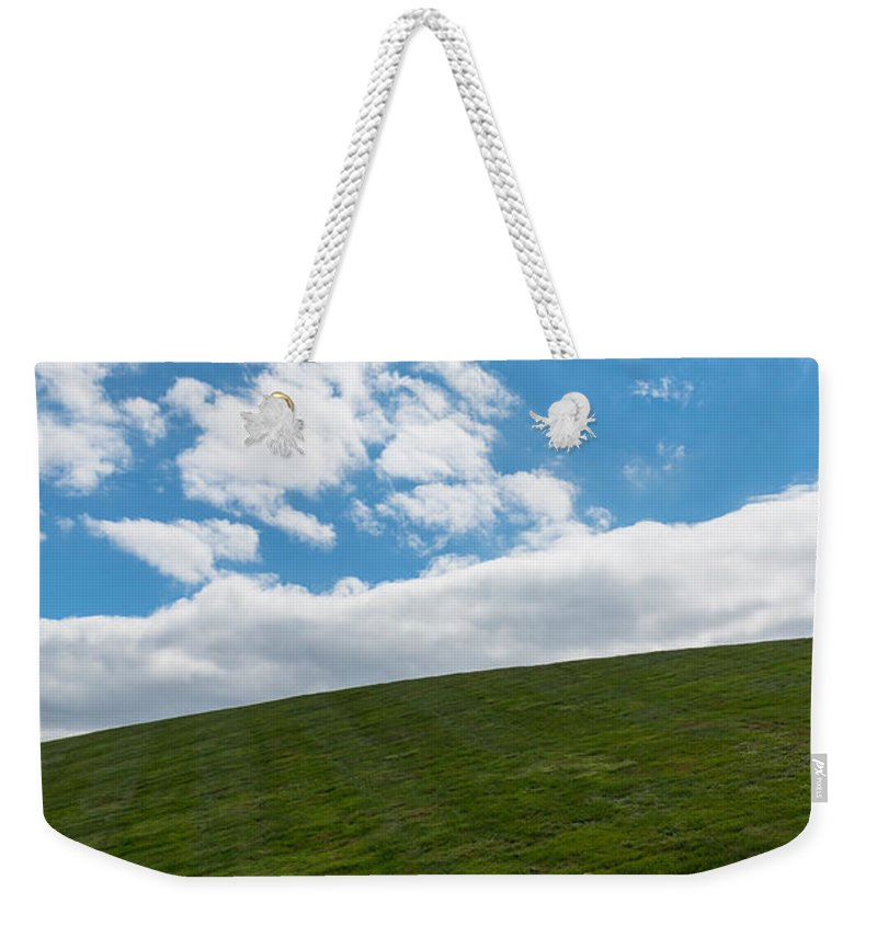 Clouds Weekender Tote Bag featuring the photograph Bliss by Gaurav Singh