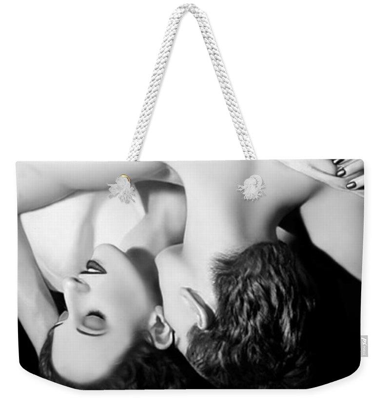 Beautiful Weekender Tote Bag featuring the photograph Bliss by Jaeda DeWalt