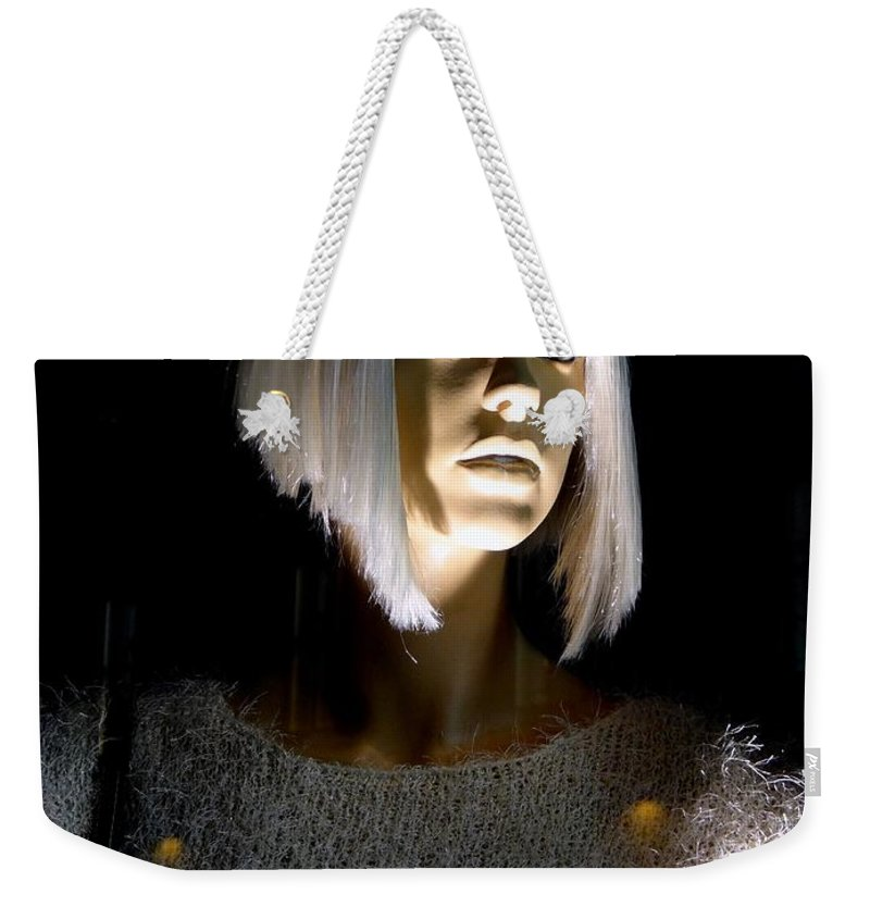 Mannequins Weekender Tote Bag featuring the photograph Blonde Highlights by Ed Weidman