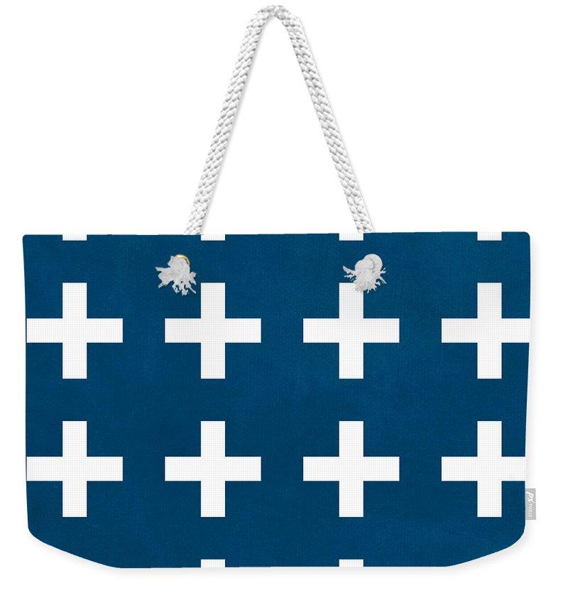 Cross Weekender Tote Bags