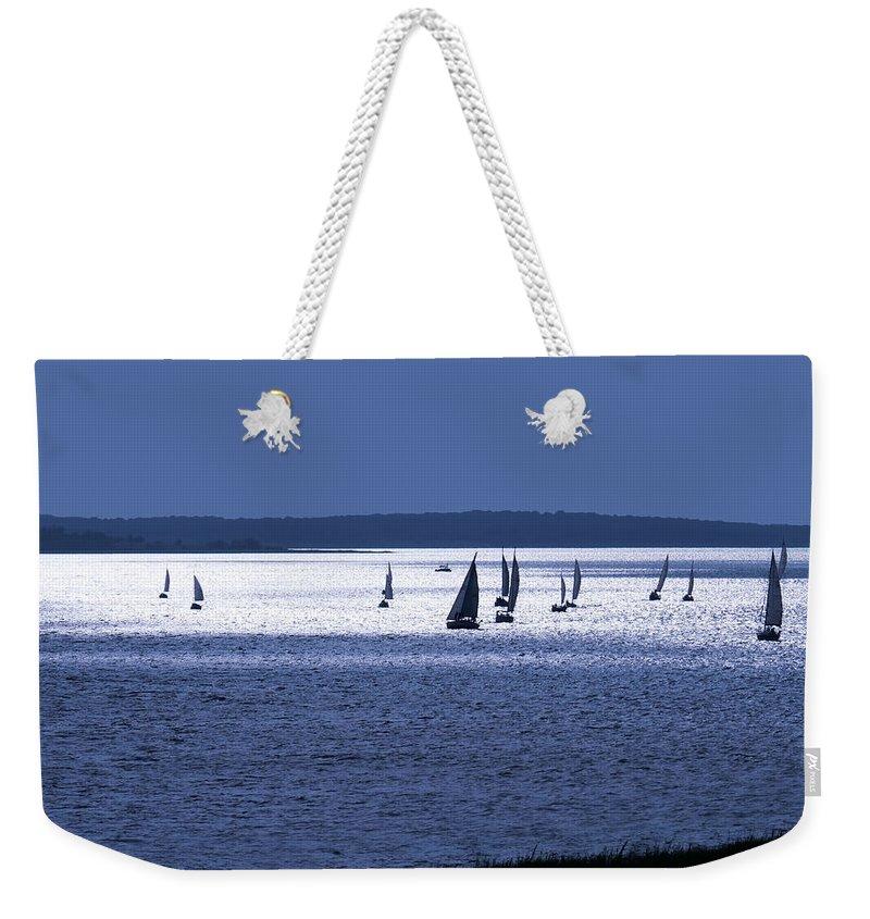 Front Weekender Tote Bags