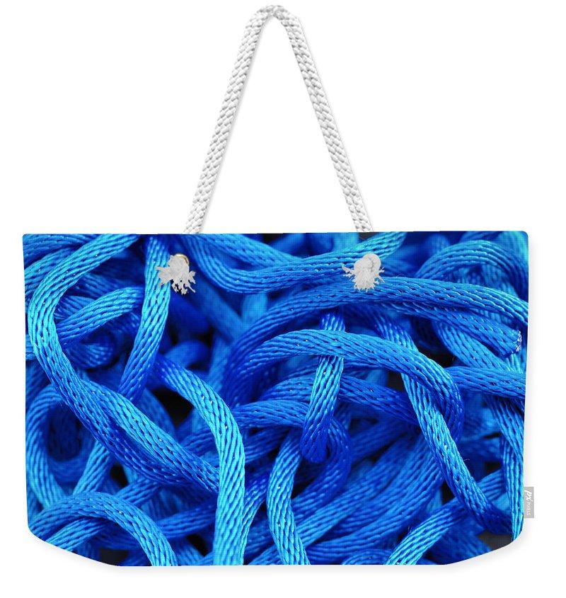 Knot Weekender Tote Bags