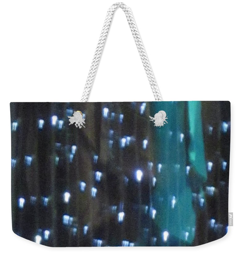 Blue Weekender Tote Bag featuring the photograph Blue by Rosita Larsson