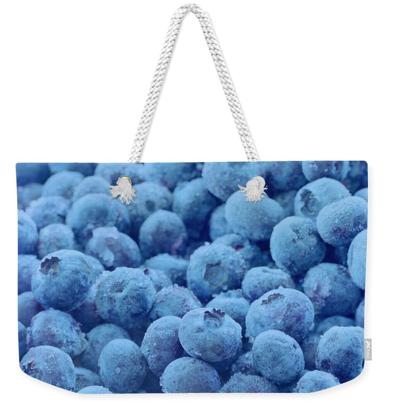 aeeaad6dbda Blueberries Weekender Tote Bag for Sale by Romulo Yanes