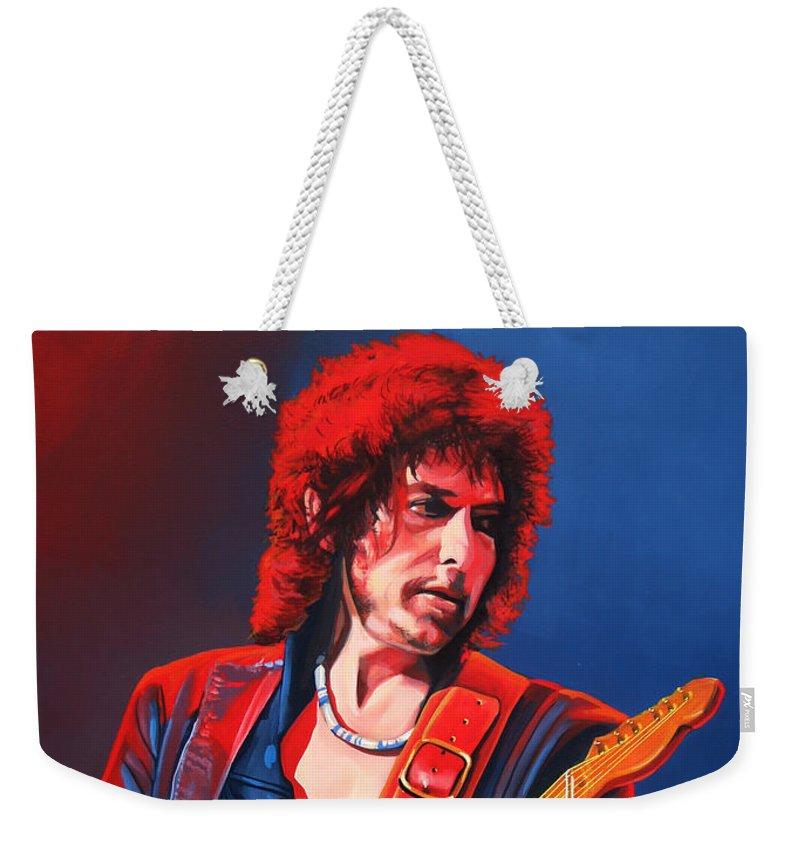 Bob Dylan Rock Music Weekender Tote Bags