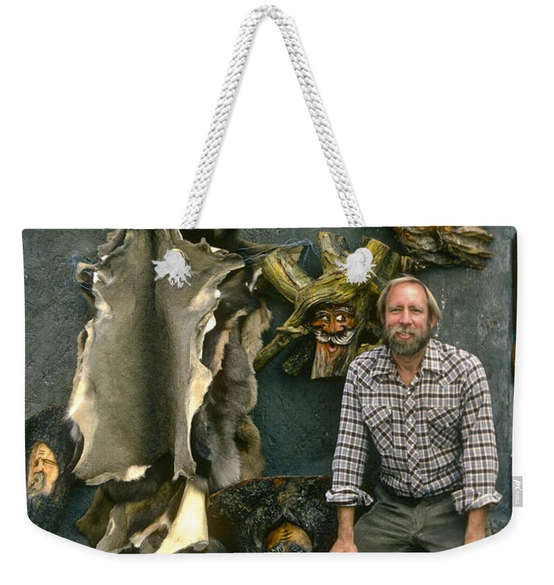 Bob Phillips Weekender Tote Bag featuring the photograph Bobp by Bob Phillips