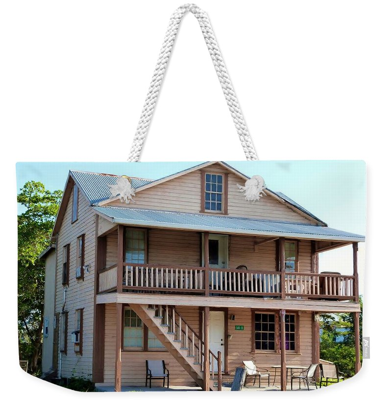 West Indian Colonial Mansion Weekender Tote Bag featuring the photograph Bodden House by Amar Sheow