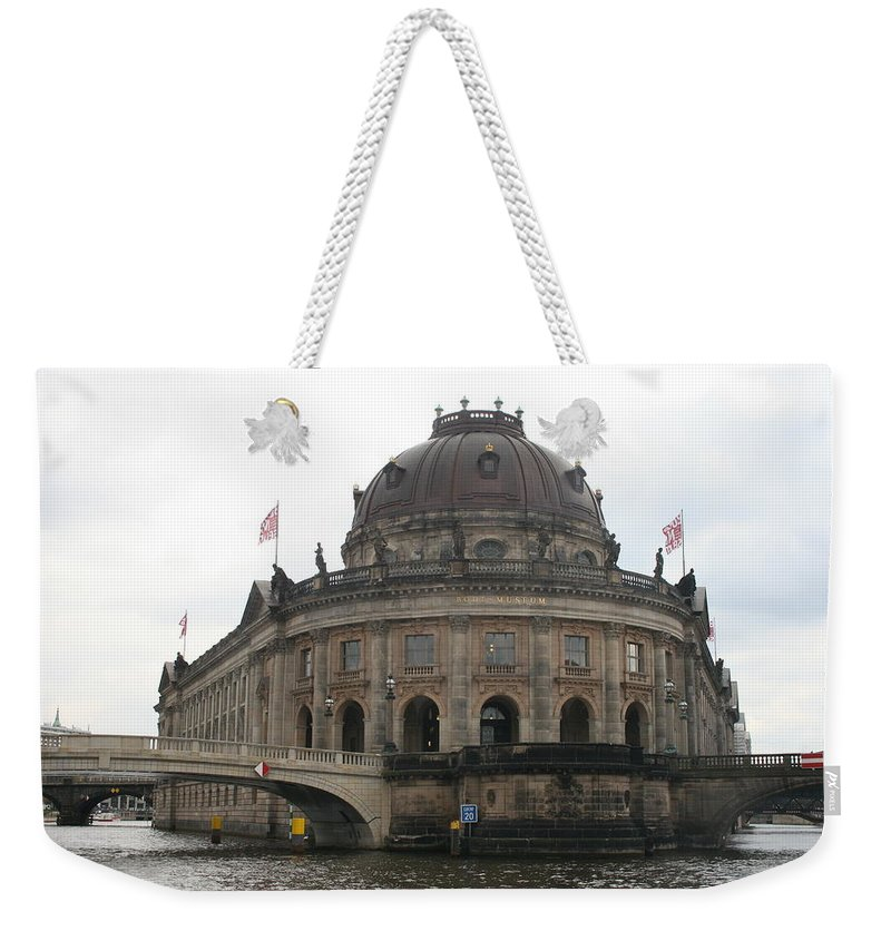 Museum Weekender Tote Bag featuring the photograph Bode Museum - Berlin - Germany by Christiane Schulze Art And Photography