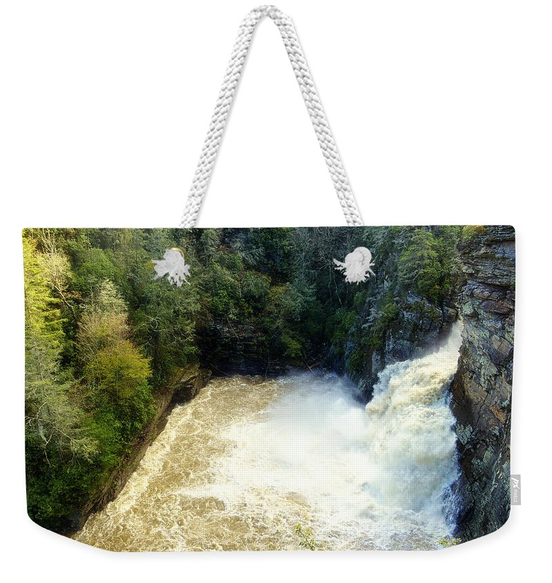 Blue Ridge Parkway Weekender Tote Bag featuring the photograph Boiling Cauldron by Phill Doherty
