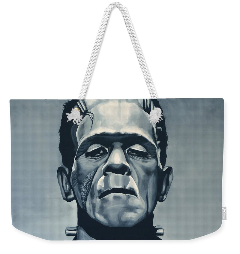 Monster Paintings Weekender Tote Bags