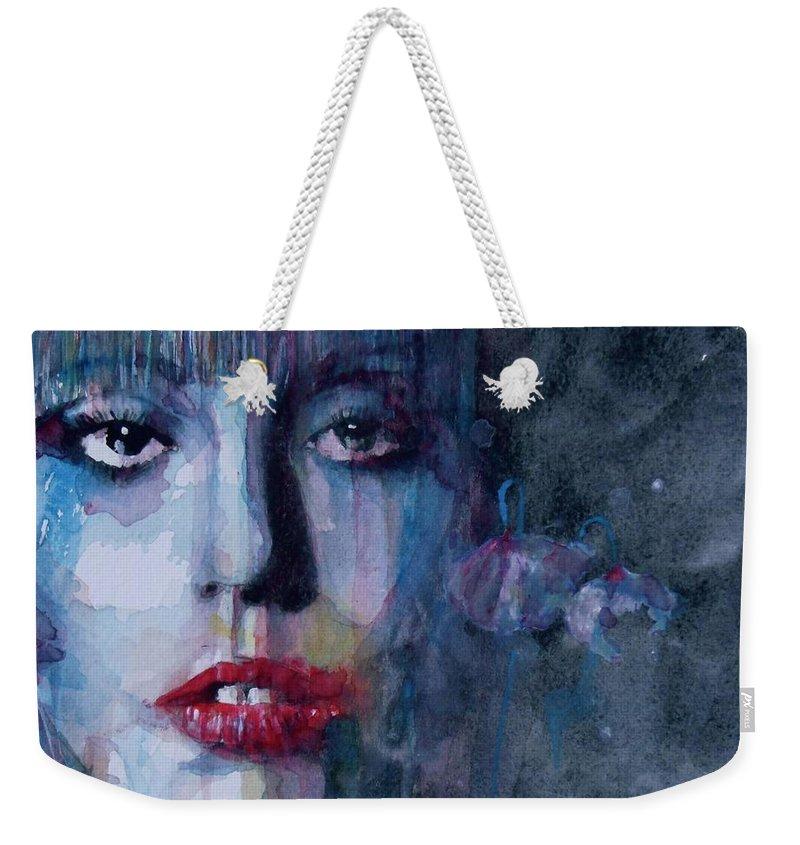 Lady Gaga Weekender Tote Bags