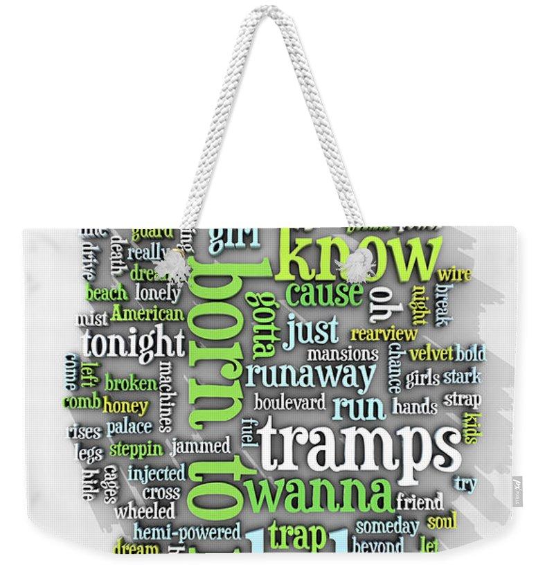 E Street Band Weekender Tote Bags