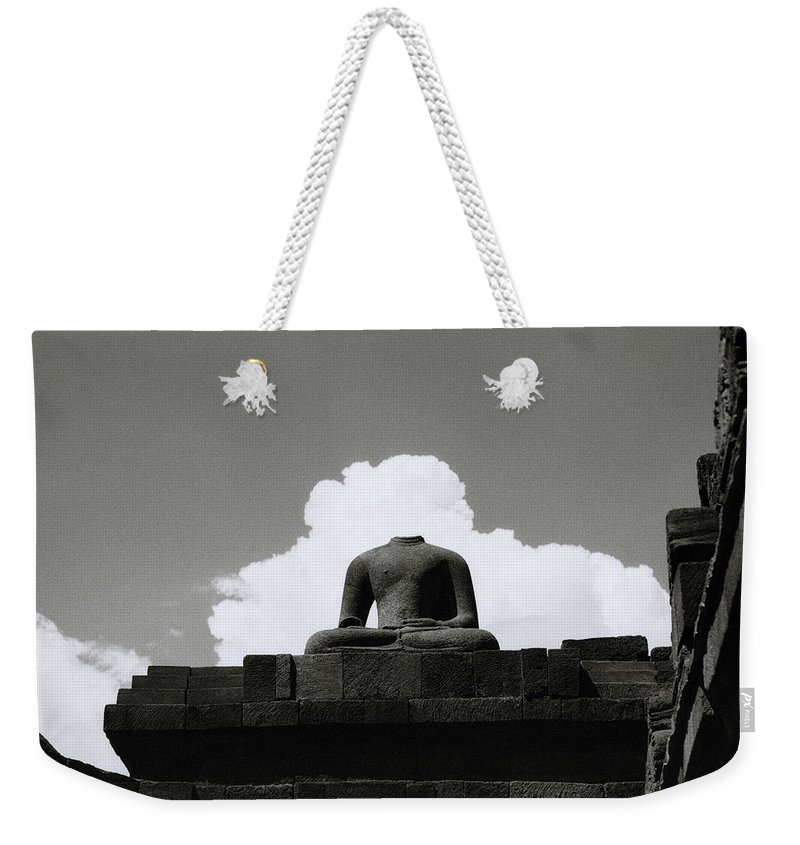 Borobudur Weekender Tote Bag featuring the photograph Borobudur Surreal by Shaun Higson