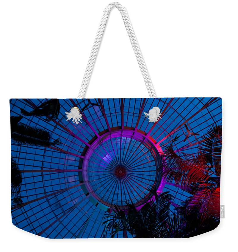 Botanical Weekender Tote Bag featuring the photograph Botanical Dome by Guy Whiteley