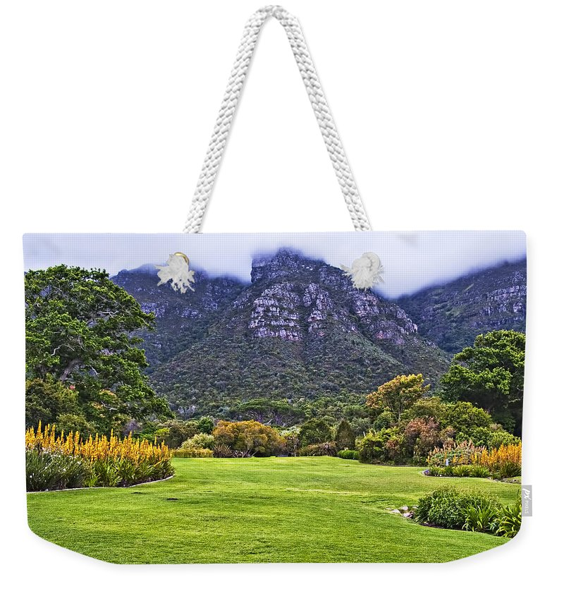 Africa Weekender Tote Bag featuring the photograph Botanical Garden by Maria Coulson