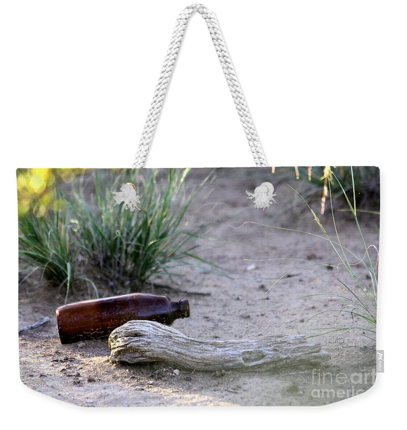 Photo Weekender Tote Bag featuring the photograph Bottle Bough by Alycia Christine