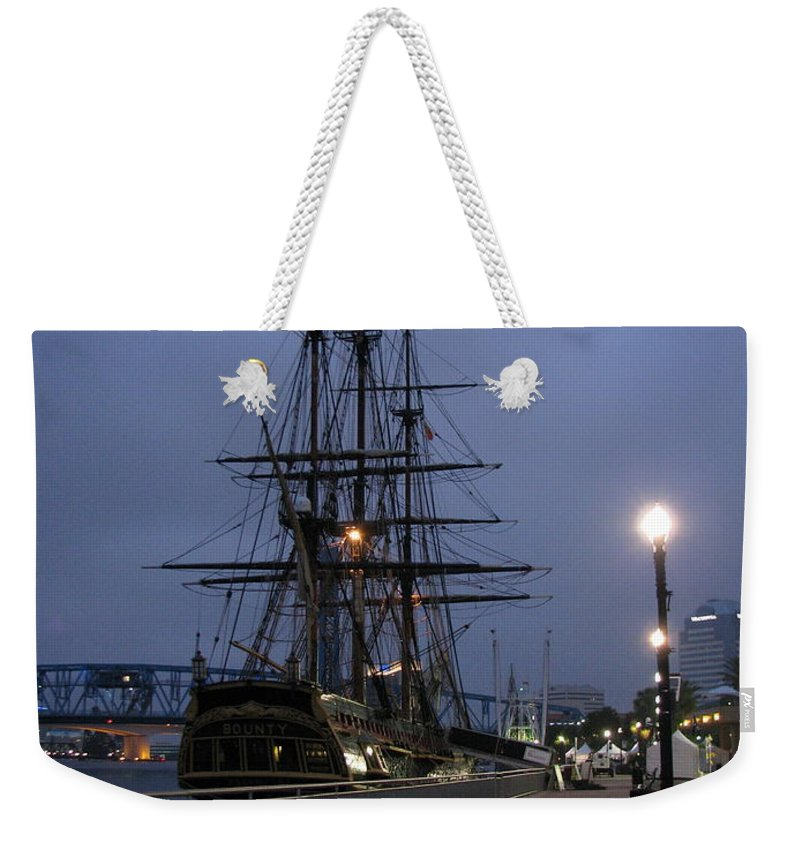 Patzer Weekender Tote Bag featuring the photograph Bounty by Greg Patzer